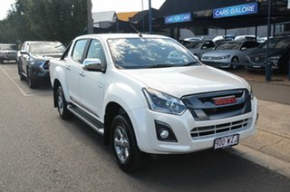2017 Isuzu D-MAX TF MY17 X-Runner (4x4) Pearl White White 6 Speed Automatic Crew Cab Utility.
