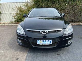 2008 Hyundai i30 FD SLX Black/Grey 4 Speed Automatic Hatchback.