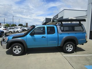 2009 Mazda BT-50 UNY0E4 SDX Freestyle Light Blue 5 Speed Manual Utility