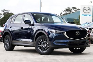 2021 Mazda CX-5 KF2W7A Maxx SKYACTIV-Drive FWD Sport Blue 6 Speed Sports Automatic Wagon.