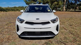 2021 Kia Stonic YB MY21 S FWD Clear White 6 Speed 6AT Wagon.
