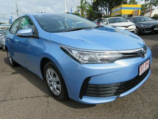 2018 Toyota Corolla ZRE172R Ascent S-CVT Blue 7 Speed Constant Variable Sedan.
