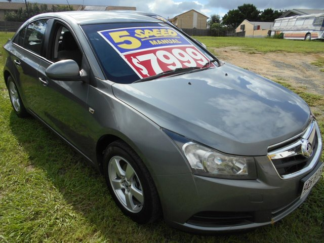 Used Holden Cruze JG CD Springwood, 2010 Holden Cruze JG CD Grey 5 Speed Manual Sedan