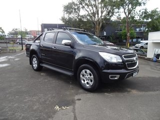2014 Holden Colorado RG MY15 LTZ Crew Cab Black 6 Speed Automatic Utility.