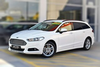 2018 Ford Mondeo MD 2018.75MY Ambiente White 6 Speed Sports Automatic Dual Clutch Wagon.