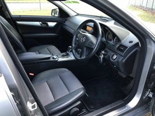 2009 Mercedes-Benz C-Class W204 C200 Kompressor Avantgarde Silver 5 Speed Sports Automatic Sedan