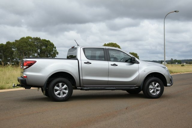 Used Mazda BT-50 XT (4x4) (5Yr) Kingaroy, 2020 Mazda BT-50 XT (4x4) (5Yr) Silver 6 Speed Manual Dual Cab Chassis