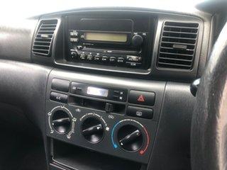 2002 Toyota Corolla ZZE122R Conquest White 5 Speed Manual Wagon