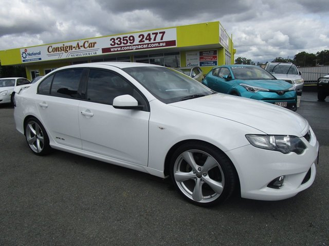 Used Ford Falcon FG MkII XR6 Kedron, 2011 Ford Falcon FG MkII XR6 White 6 Speed Sports Automatic Sedan