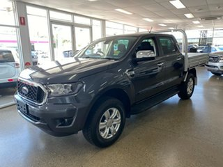 2021 Ford Ranger PX MkIII 2021.25MY XLT Double Cab Meteor Grey 6 Speed Sports Automatic.