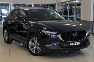 2021 Mazda CX-30 DM2W7A G20 SKYACTIV-Drive Touring Blue 6 Speed Sports Automatic Wagon.