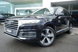 2018 Audi Q7 4M MY18 3.0 TDI Quattro Orca Black 8 Speed Automatic Tiptronic Wagon.