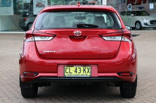 2015 Toyota Corolla ZRE182R MY15 Ascent Red 7 Speed CVT Auto Sequential Hatchback