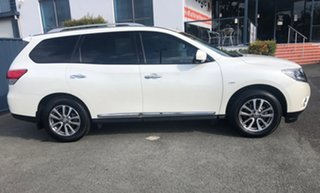 2015 Nissan Pathfinder R52 MY15 ST-L X-tronic 2WD White 1 Speed Constant Variable Wagon.