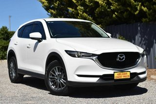 2017 Mazda CX-5 KE1022 Maxx SKYACTIV-Drive i-ACTIV AWD Sport White 6 Speed Sports Automatic Wagon.