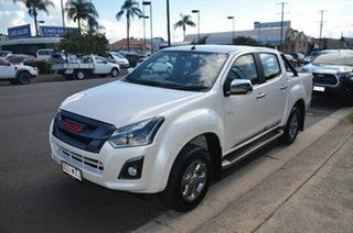 2017 Isuzu D-MAX TF MY17 X-Runner (4x4) Pearl White White 6 Speed Automatic Crew Cab Utility