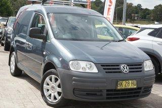 2007 Volkswagen Caddy 2KN SWB Grey 5 Speed Manual Van.