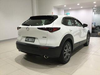 2020 Mazda CX-30 DM4WLA X20 SKYACTIV-Drive i-ACTIV AWD Astina Snowflake White 6 Speed.