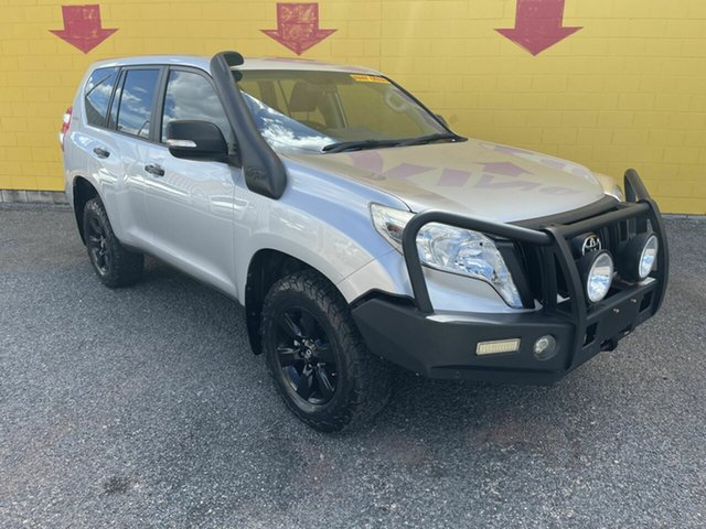 Used Toyota Landcruiser Prado GDJ150R GX Winnellie, 2015 Toyota Landcruiser Prado GDJ150R GX Silver 6 Speed Sports Automatic Wagon