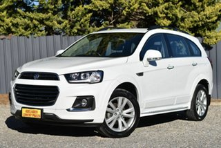 2016 Holden Captiva CG MY16 LT AWD White 6 Speed Automatic Wagon.