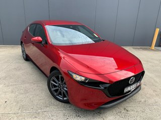 2020 Mazda 3 BP2H7A G20 SKYACTIV-Drive Touring Soul Red Crystal 6 Speed Sports Automatic Hatchback