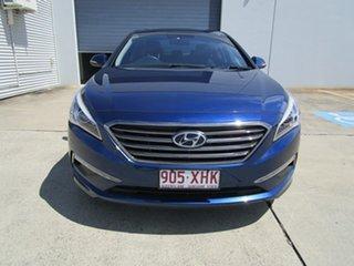 2015 Hyundai Sonata LF MY16 Elite Blue 6 Speed Sports Automatic Sedan.