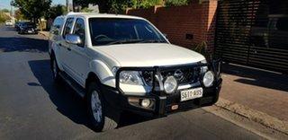 2012 Nissan Navara D40 MY12 ST-X 550 (4x4) 7 Speed Automatic Dual Cab Utility.