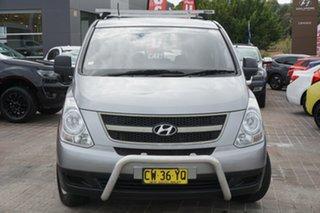2010 Hyundai iLOAD TQ-V Grey 5 Speed Manual Van.