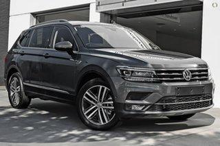 2020 Volkswagen Tiguan 5N MY21 140TDI Highline DSG 4MOTION Allspace Grey 7 Speed.
