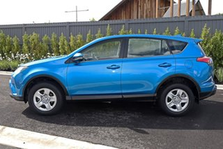 2017 Toyota RAV4 ZSA42R GX 2WD Blue 7 Speed Constant Variable Wagon.