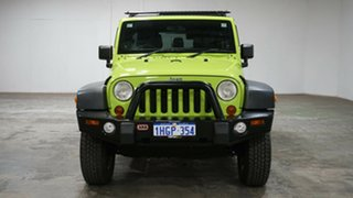 2012 Jeep Wrangler JK MY2012 Unlimited Sport Gecko 5 Speed Automatic Softtop
