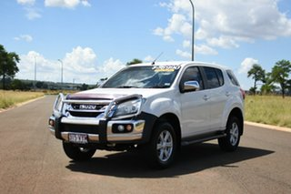 2015 Isuzu MU-X UC MY15 LS-U (4x2) White 5 Speed Automatic Wagon