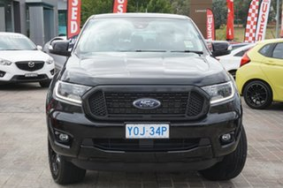 2020 Ford Ranger PX MkIII 2020.25MY FX4 Black 6 Speed Sports Automatic Double Cab Pick Up.