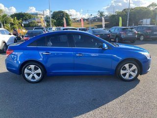 2010 Holden Cruze JG CDX Blue 6 Speed Sports Automatic Sedan.