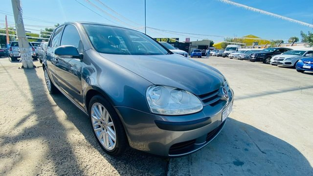 Used Volkswagen Golf V Sportline Tiptronic Maidstone, 2005 Volkswagen Golf V Sportline Tiptronic Grey 6 Speed Sports Automatic Hatchback
