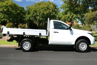 2017 Mitsubishi Triton MQ MY18 GLX 4x2 White 6 Speed Manual Cab Chassis