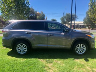 2016 Toyota Kluger GSU50R GX 2WD Grey 8 Speed Sports Automatic Wagon.