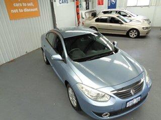 2011 Renault Fluence L38 Dynamique Blue 6 Speed Constant Variable Sedan