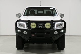 2017 Nissan Navara D23 Series II ST (4x4) White 6 Speed Manual Dual Cab Utility.