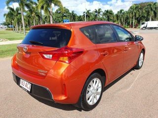 2014 Toyota Corolla ZRE182R Ascent Sport S-CVT Inferno 7 Speed Constant Variable Hatchback.