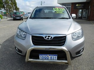 2011 Hyundai Santa Fe CM MY11 SLX Silver 6 Speed Manual Wagon.