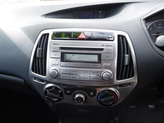 2012 Hyundai i20 PB MY13 Active Silver 6 Speed Manual Hatchback