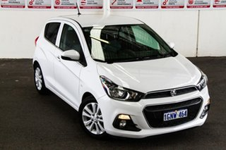 2016 Holden Spark MP MY16 LT White Continuous Variable Hatchback.
