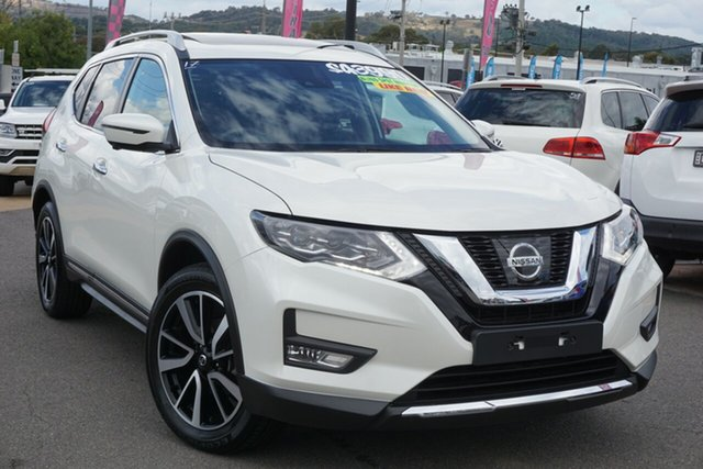 Used Nissan X-Trail T32 Series III MY20 Ti X-tronic 4WD Phillip, 2020 Nissan X-Trail T32 Series III MY20 Ti X-tronic 4WD White 7 Speed Constant Variable Wagon