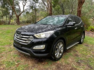 2013 Hyundai Santa Fe DM MY13 Highlander Phantom Black 6 Speed Sports Automatic Wagon