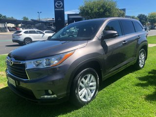 2016 Toyota Kluger GSU50R GX 2WD Grey 8 Speed Sports Automatic Wagon