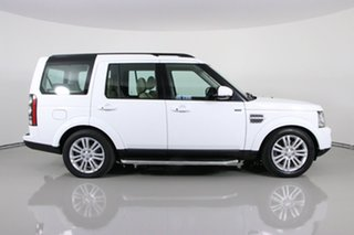 2016 Land Rover Discovery MY16 3.0 SDV6 HSE White 8 Speed Automatic Wagon
