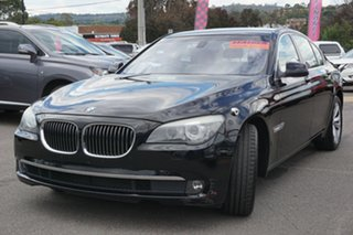 2009 BMW 7 Series F01 740i Steptronic Black 6 Speed Sports Automatic Sedan