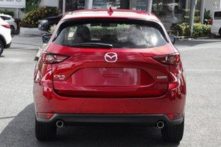 2021 Mazda CX-5 KF4WLA GT SKYACTIV-Drive i-ACTIV AWD SP Red 6 Speed Sports Automatic Wagon.