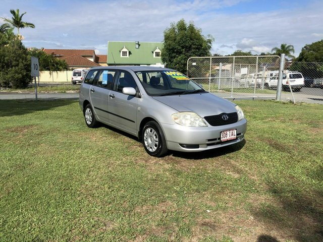 Used Toyota Corolla ZZE122R Ascent Kippa-Ring, 2003 Toyota Corolla ZZE122R Ascent Silver 4 Speed Automatic Wagon